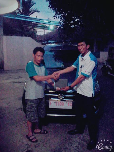 penyerahan kendaraan suzuki atas nama Endang Supiadi S.Pd.M.M.Pd