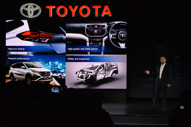 Fitur Toyota All New Rush