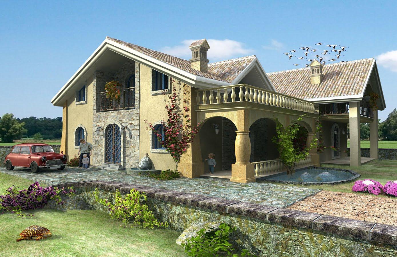 Fotos de fachadas de casas bonitas vote por sus fachadas for Disenos de fachadas de casas modernas