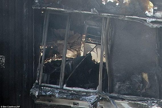 West London Fire: Photos from the burnt remains of apartment tower destroyed!