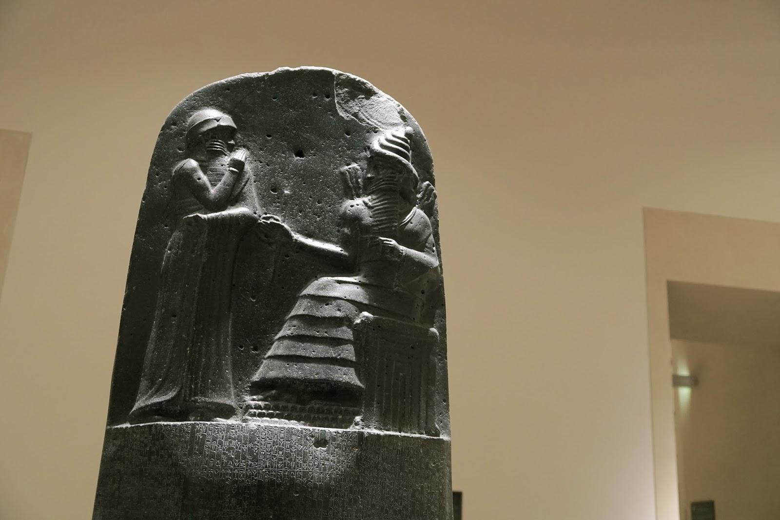 「バビロニア王ハムラビ法典」(Code de Hammurabi)