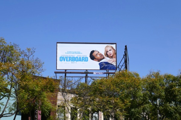Overboard film billboard