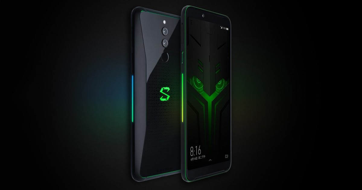 Xiaomi Black Shark Helo Announced With New Design And 10gb