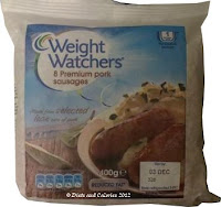 Weight Watchers low fat sausages