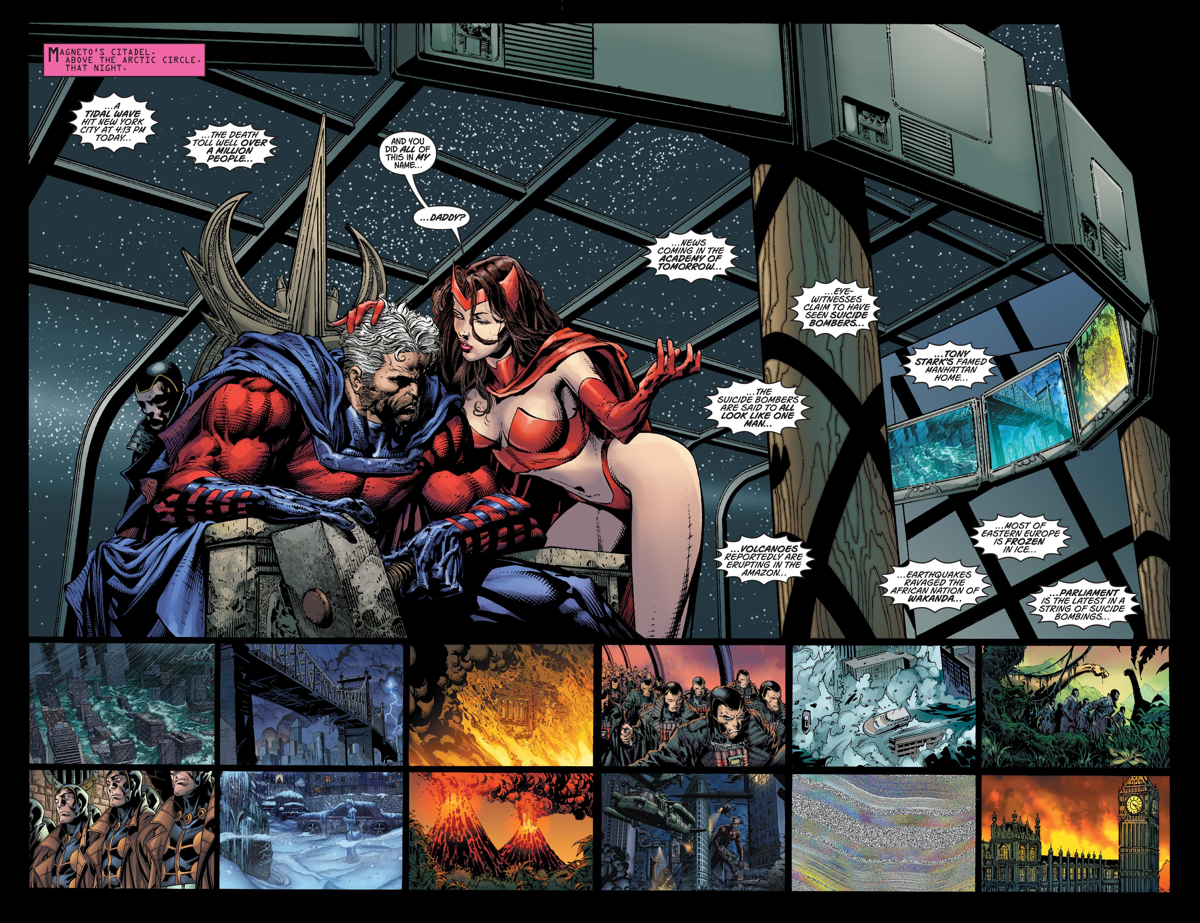 Read online Ultimatum comic -  Issue #3 - 4