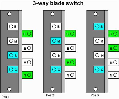 √ emg wiring diagram 3 way toggle switch 3-Way Toggle Switch Wiring Diagram AC