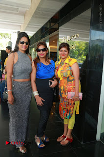 Bollywood Actress Sana Khan Launches Aakrithi Exibition  0218.JPG