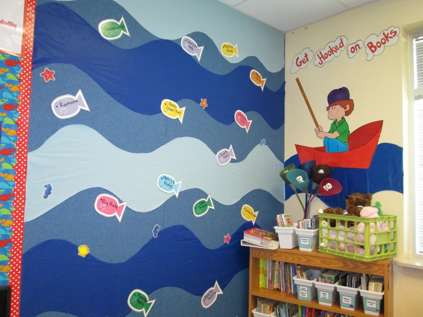 Adventures In Third Grade Under The Sea Classroom Tour
