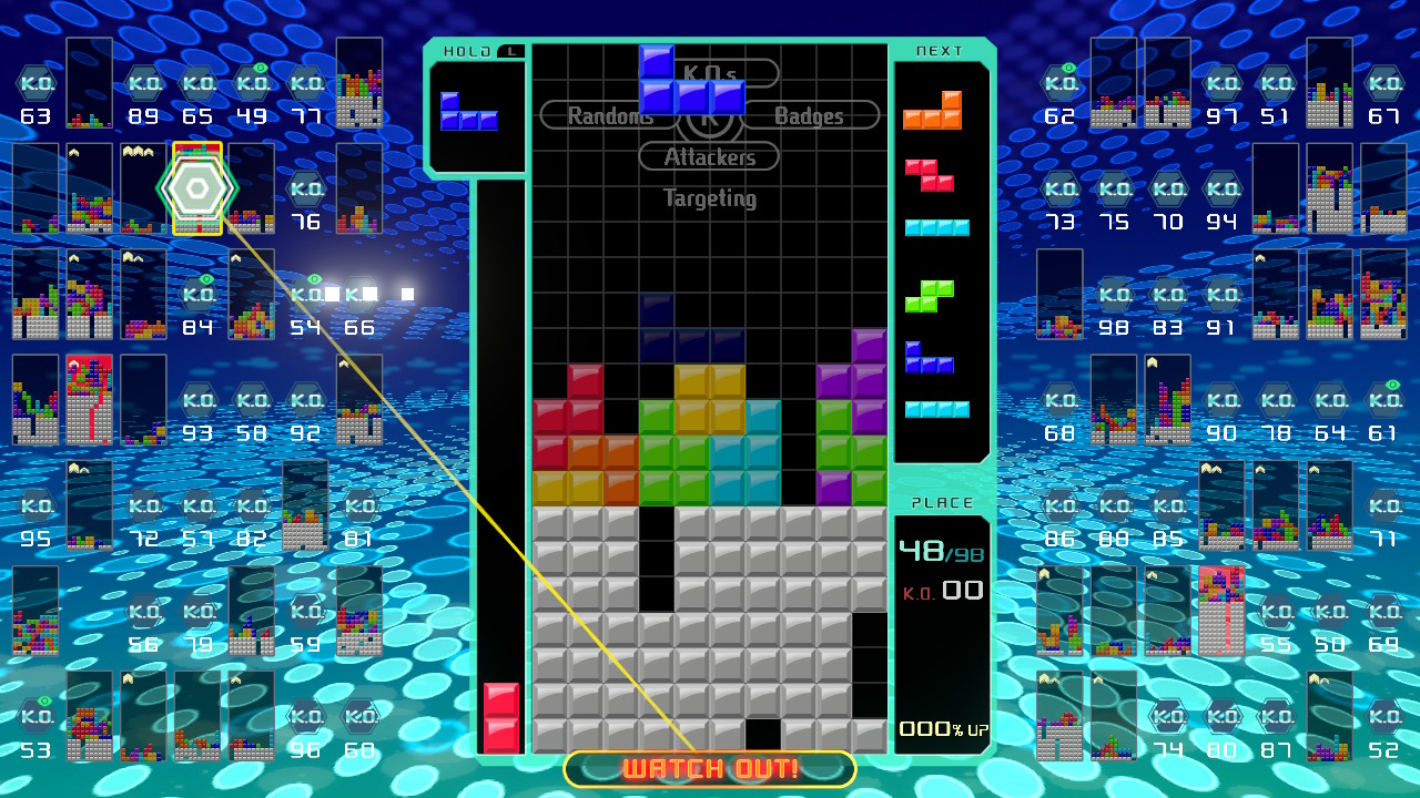 Tetris 99 - A Battle Royale game? - Gamer By Mistake