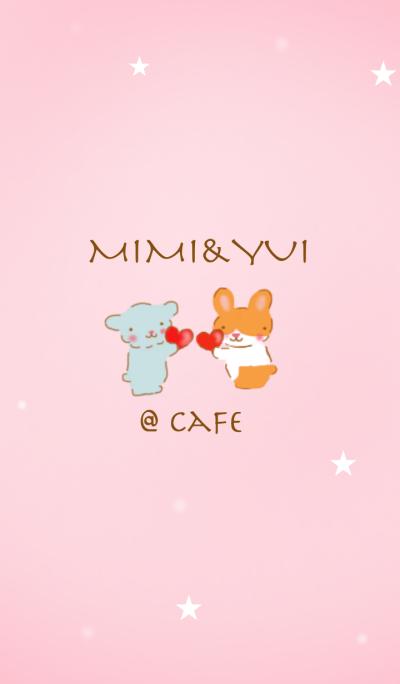 mimi&yui @cafe honey
