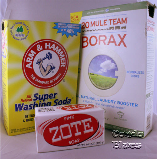 DIY HE laundry detergent recipe