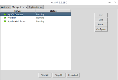 Membuat Shortcut XAMPP Control Panel GUI di Linux