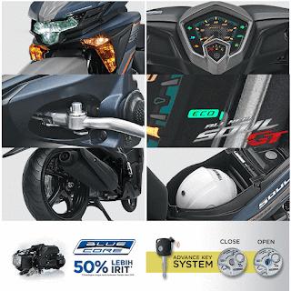 Fitur dan Spesifikasi Yamaha Soul GT 125 AKS
