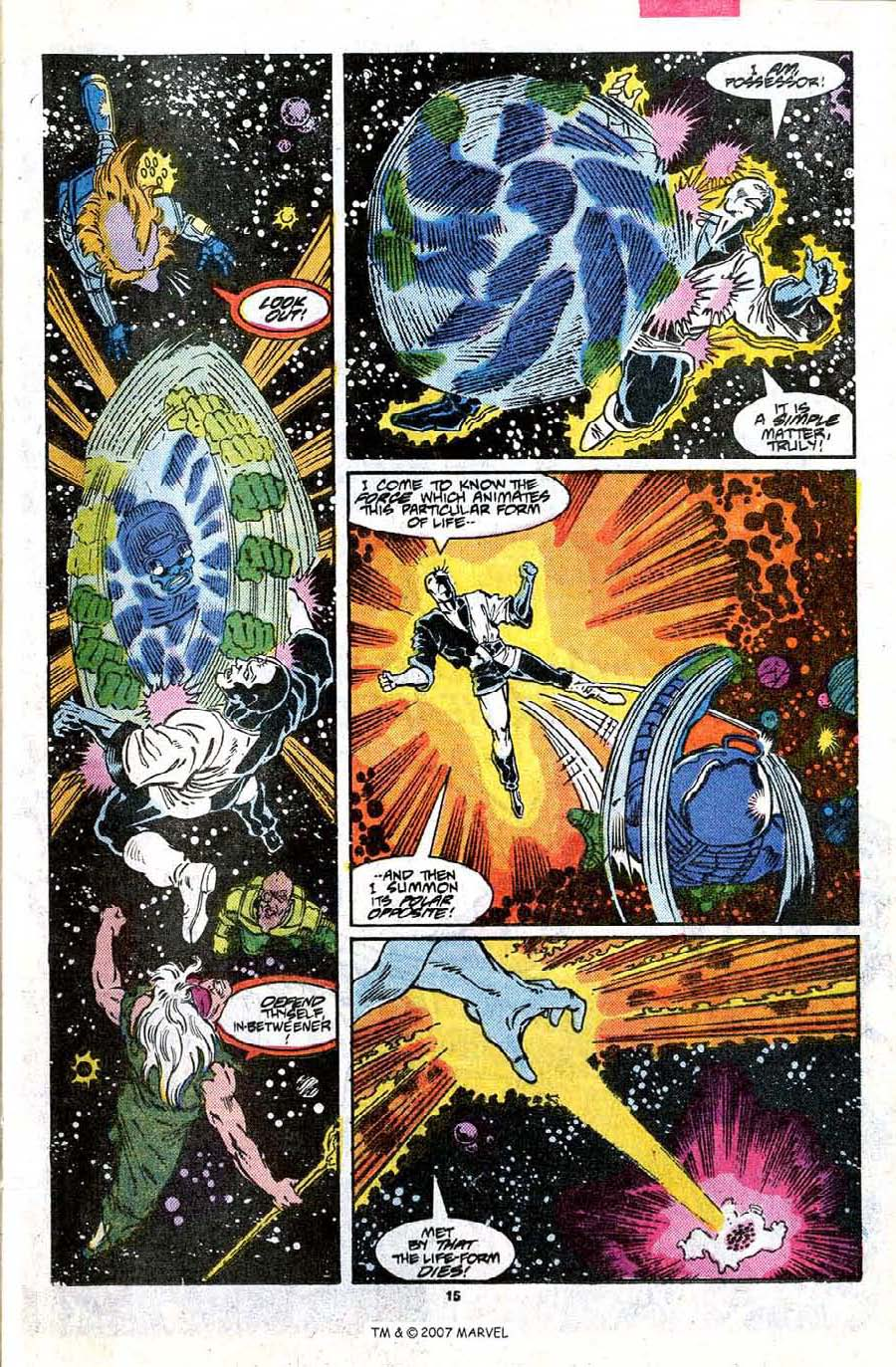 Read online Silver Surfer (1987) comic -  Issue #17 - 17