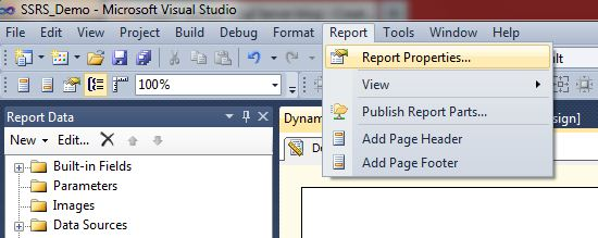 All about SQLServer: SSRS - How to add Custom Code and