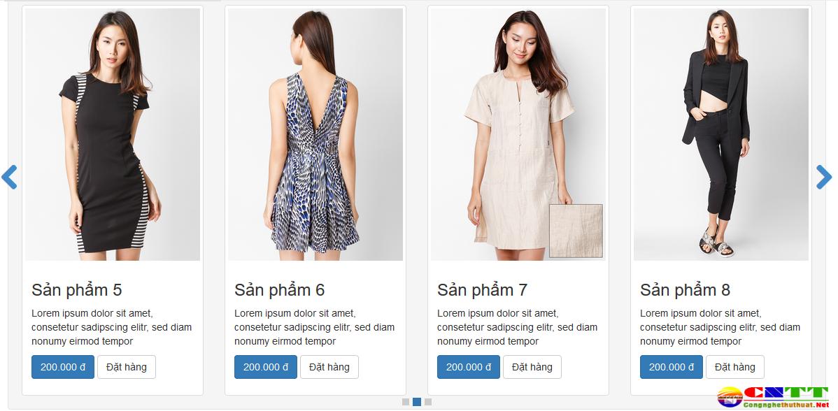 Hướng dẫn cách tạo slide sản phẩm đẹp mắt cho Blogspot