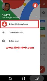 Akun gmail baru selesai dibuat