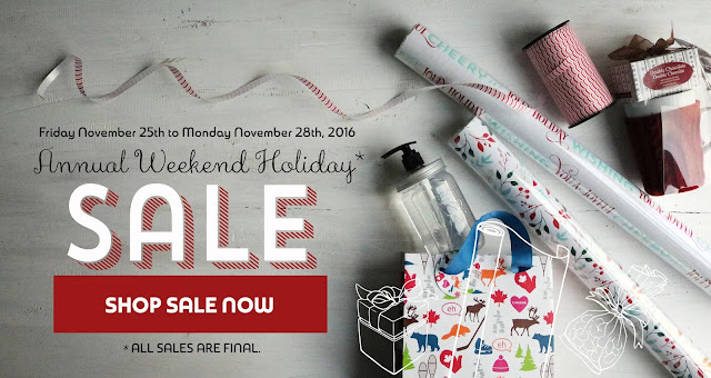 holiday sale on packaging products