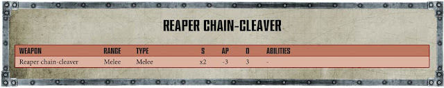 Repaer Chain Cleaver Armiger Warglaive