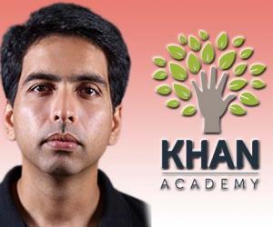 الموقع التعليمي العالمي Khan academy  لجميع التخصصات العلمية