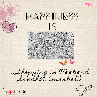 Happiness is Shopping in Weekend Sandhai -market!