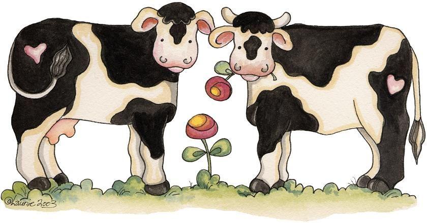 vacas dibujo