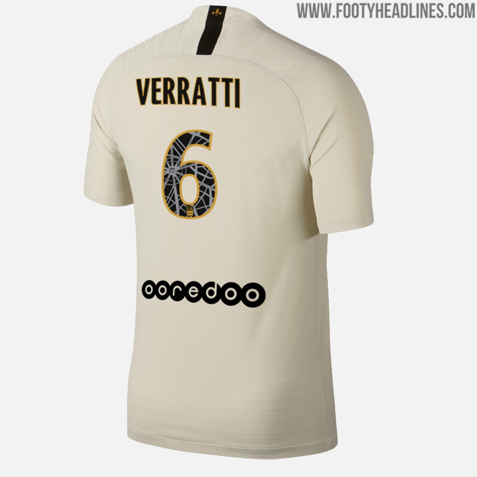 Update Special Nike Paris Saint Germain 18 19 Away Kit Font Revealed Futbolgrid