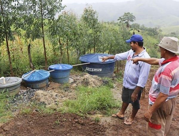 Sesau apoia projeto de recuperação de nascentes em municípios alagoanos