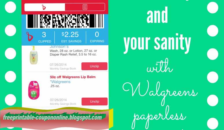 Walgreens online photo coupon code