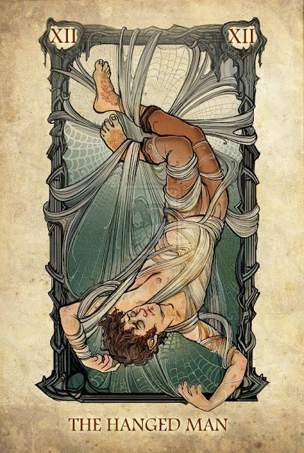 Senhor dos anéis em cartas de tarô - O homem enforcado