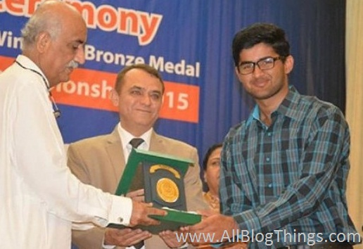 9. Waqas Ali: Bronze Medal Winner at the MOSWC