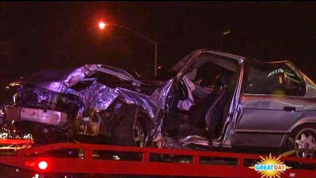 fresno drunk driver vehicle accident blackstone avenue hits trees