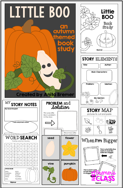 Little Book book study companion activities for Kindergarten and First Grade
