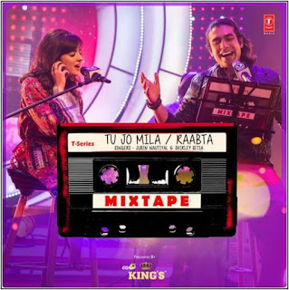TU JO MILA + RAABTA LYRICS: A new mashup in T-Series Mixtape series by Jubin Nautiyal and Shirley Setia. The mashup includes KK's Tu Jo Mila from Bajrangi Bhaijaan and Arijit Singh's Raabta from Agent Vinod.