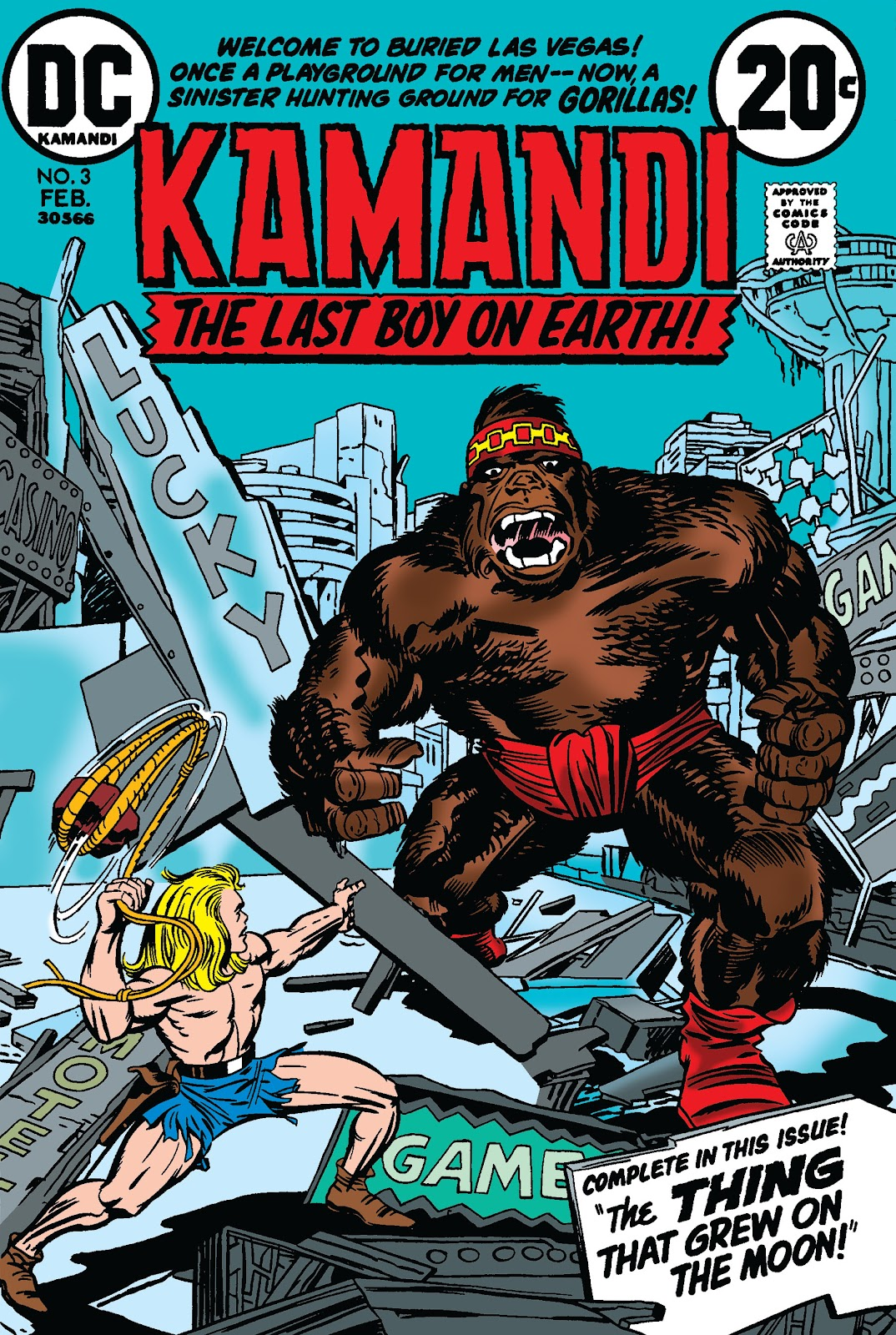Kamandi, The Last Boy On Earth issue 3 - Page 1