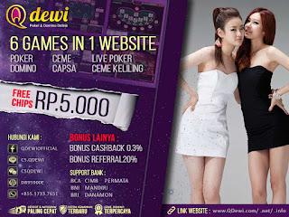Agen Judi Live Poker Online Server IDN Play QDewi.net
