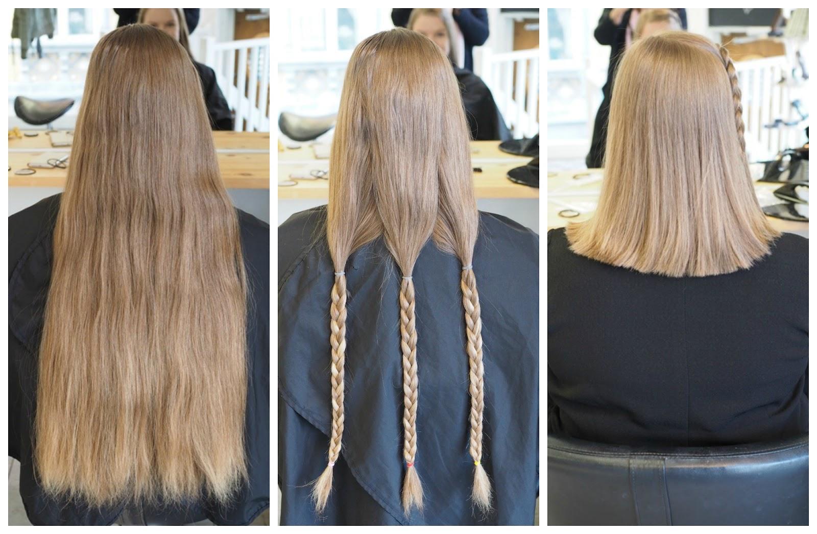 Hiusten Lahjoittaminen