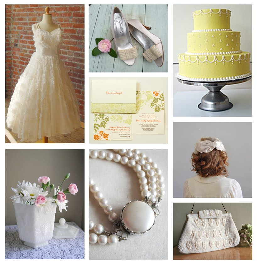 Retro Republican: Unique Wedding Ideas: Everything Old Is