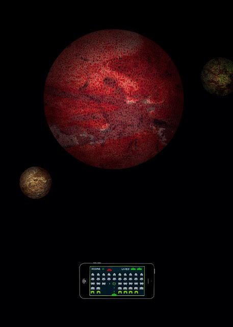 destruir al invasor, marcianos