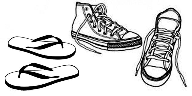 Sandal Jepit Sepatu
