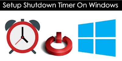 Shutdown Windows dengan Timer