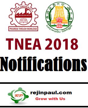 TNEA 2018 Application Form Apply Online - Tamil Nadu B.E B.Tech B.Arch Admission 2018 Anna University