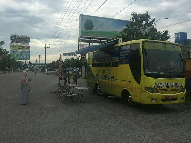 Bus SAMSAT Pemprov Riau