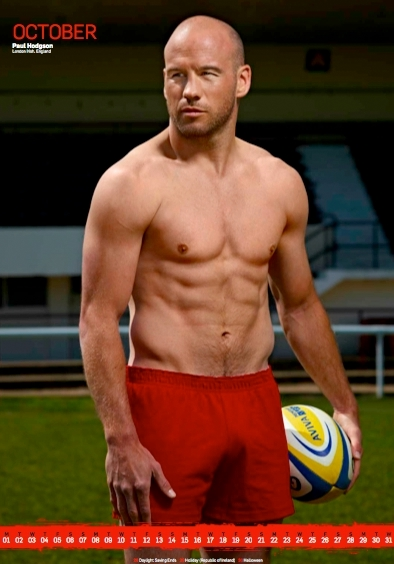 'Rugby's Finest' - 2012 • Paul Hodgson • Rugby Union Player