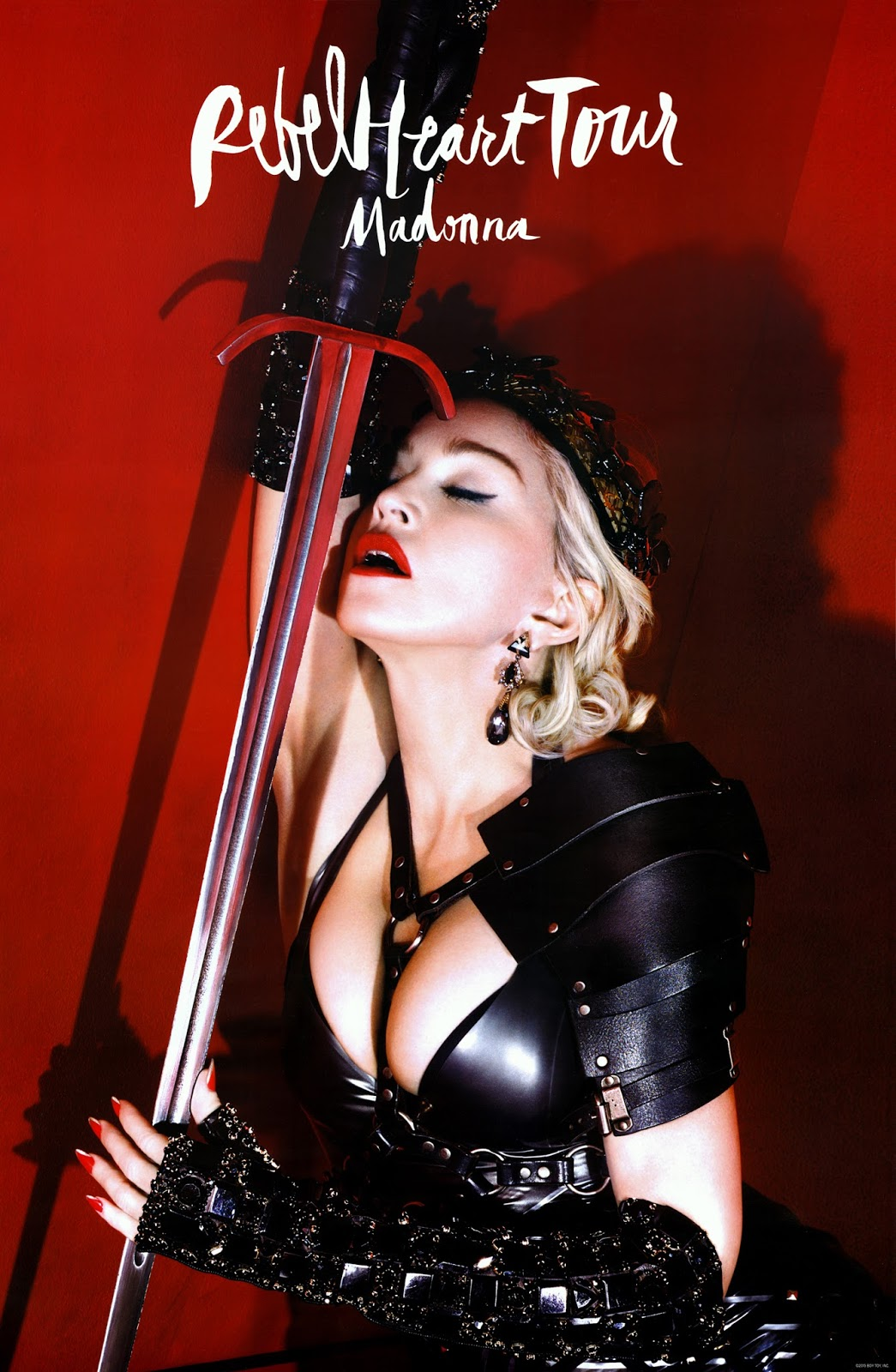 Concert Madonna Rebel Heart Tour 2016