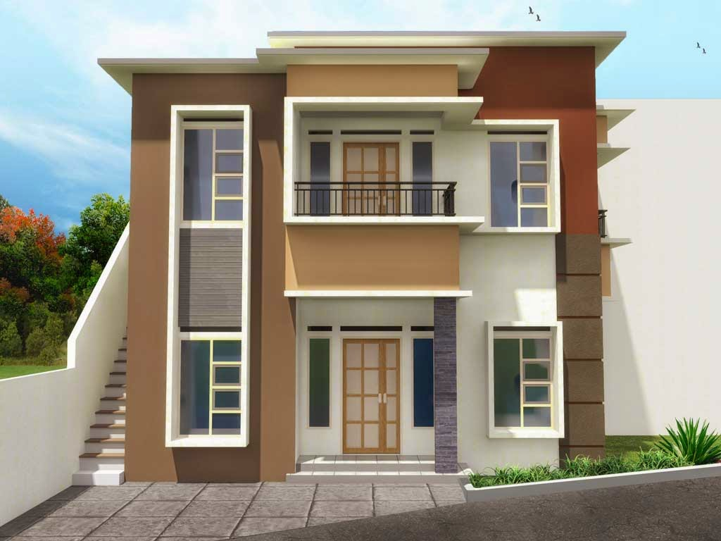 Gambar Rumah Idaman Sederhana 2 Lantai Desain Rumah