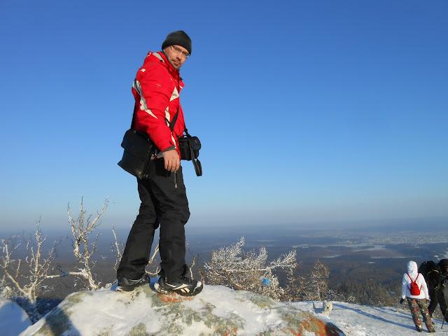 Блохин Олег на вершине горы Сугомак