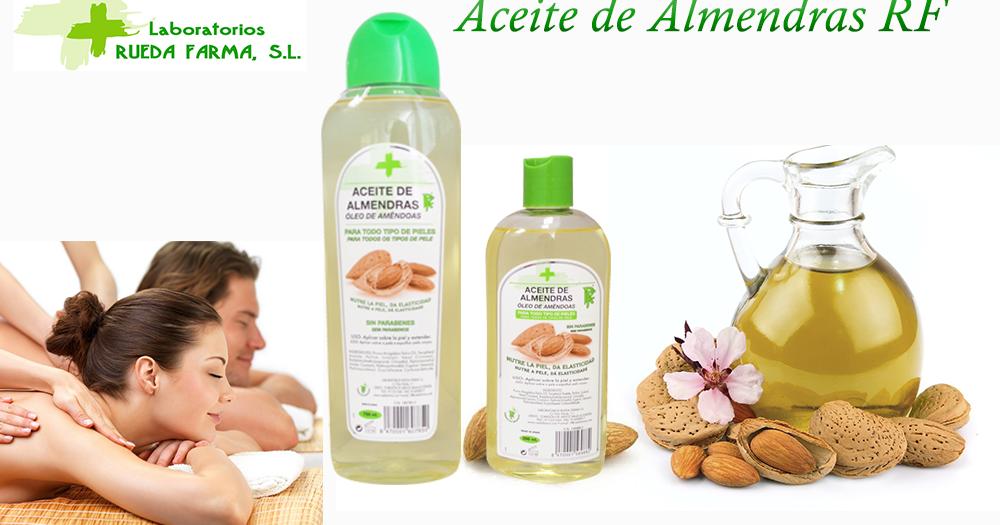 Laboratorio Rueda Farma: Propiedades del aceite de almendras