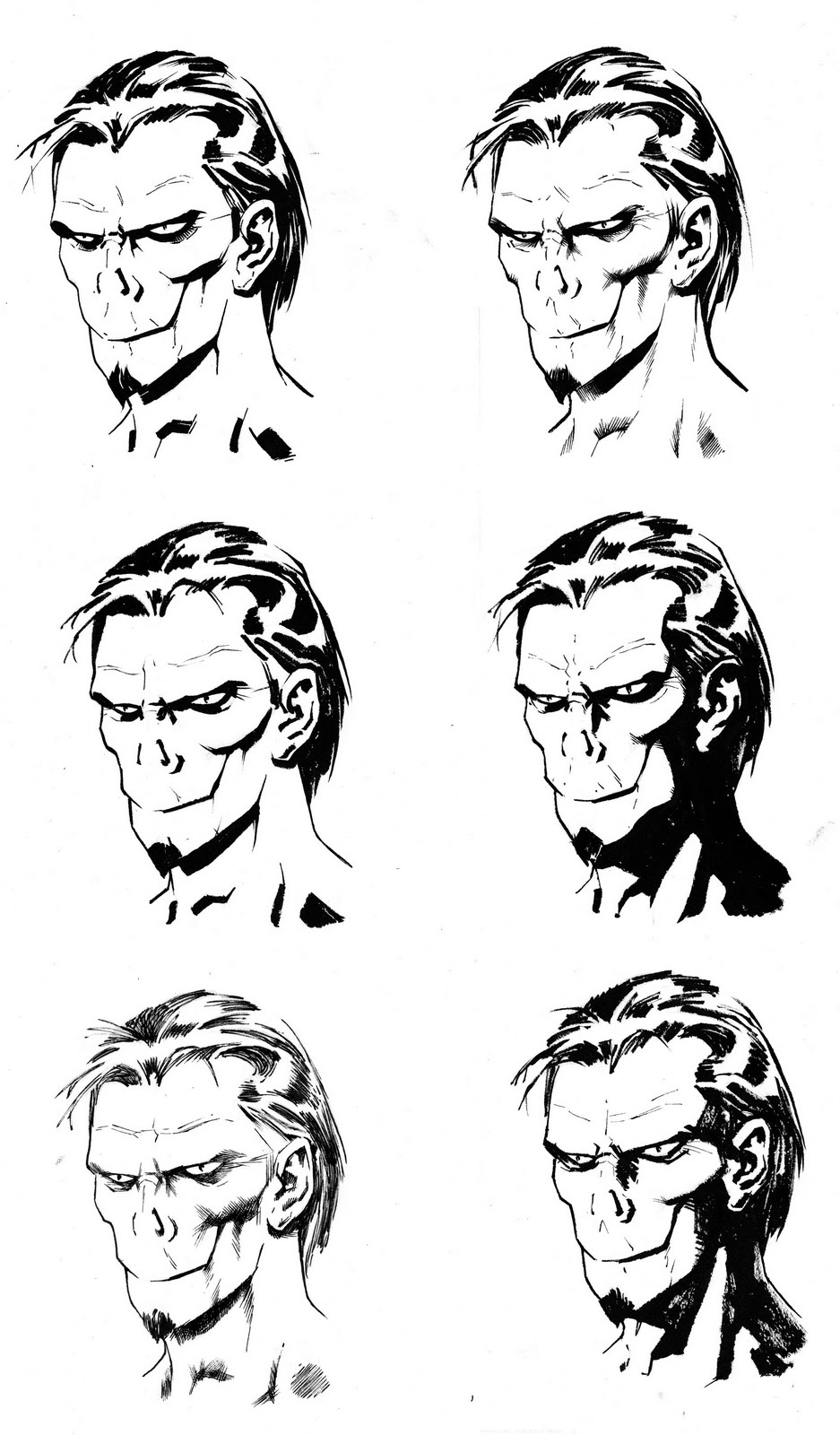 .: Nowlan's Morbius Ink Tests