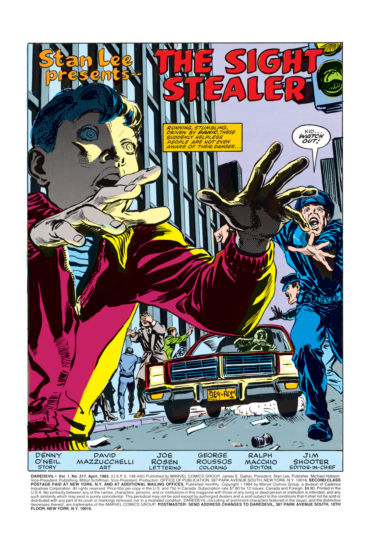Daredevil (1964) 217 Page 1